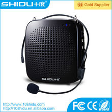 High power 15w wide coverage 2000 square meters large battery 1800mAh 15hours long working time portable voice amplifier