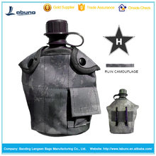 hot selling military outdoor water bottle kettle nylon carrying pouch hydration bag