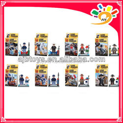 Movied figures The Lone Ranger 8 models mixed little figures mini brick toy factory
