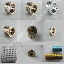 High precision oilless guide bush, brass guide bush ,cast bronze guide bearing supplier