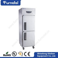 Furnotel High Quality Restaurant Stainless Steel Commercial Refrigerator Brands