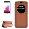 Cheap Price with Caller ID Display Window Leather Phone Case for LG G3 Beat