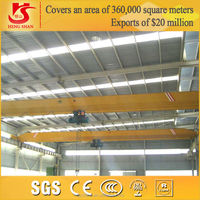 Safety and high work efficiency high precise position 10 ton overhead crane