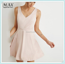Fashion Sateen Fit & Flare Dress