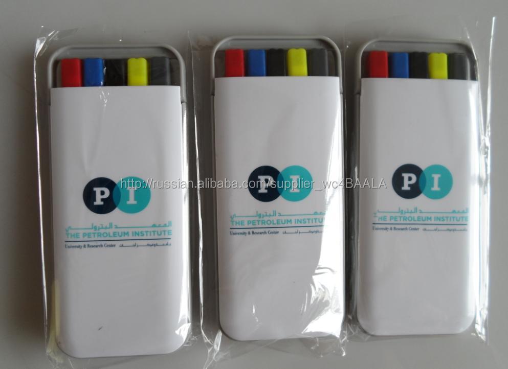 5 in1 перо комплект включая маркер и ручка и механический карандаш ch-6258, OEM добро пожаловать