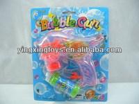 Kids toy friction dolphin flashing bubble gun