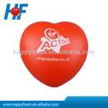 Figura do coração pu bola anti-stress/bola de espuma