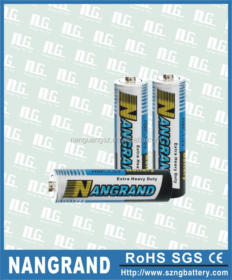 r6 aa battery 1.5v um3