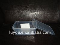 disposable plastic take out food container