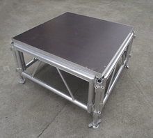 Wholesale 4FT*4FT Aluminum frame 18mm plywood used portable stage