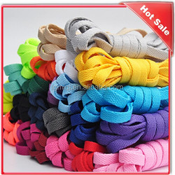 Polyester Round Wax rope Shoe lace Shoestring