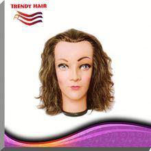 100% Human Hair Mannequin Head KO