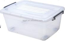 Heavy duty plastic storage box storage bin LSB-007 120 litter with wheel
