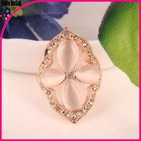 Fashion stackable heart crystal ring wholesale