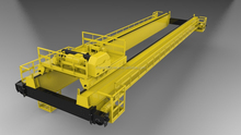 20 Ton Double Girder Overhead Crane with ISO CE Certificate
