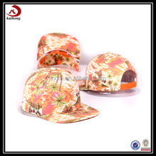 Custom Snapbacks Low Crown,Snapback Hat Bulk In China,Flower Cap