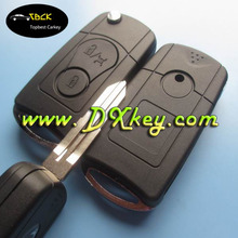 Modified 3 buttons car flip key shell for key ssangyong ssangyong key