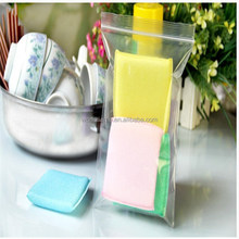 Top quality and best popular plastic cheap grip seal ziplock bag made from food grade material for kitchen usage
