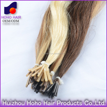 I tip/pre-bonded human hair 100% unprocessed human hair extensions