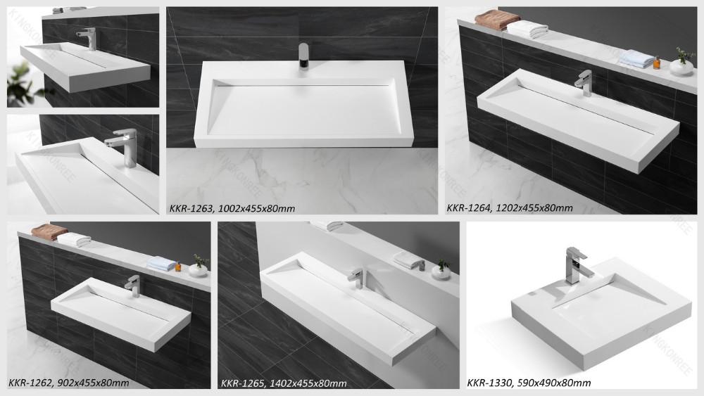 새로운 디자인 산업 세척 분지/영국 받침대 세면대-욕실 싱크 ...