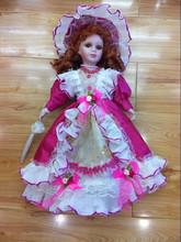"16 "" de cerâmica Nobel vestido - up princesa boneca"