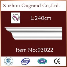 lightweight pu mould for types of suspended ceiling board decoration
