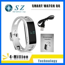 High quality and cheap price smart wrist watch D8,New stysle D8 smart watch from China