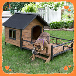 Outdoor solid cheap wooden pet house wholesale