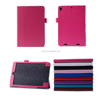 For Xiaomi Mi Pad PU Tablet Case With Pen Slot 8 inch Stand Folding Leather Cover Case