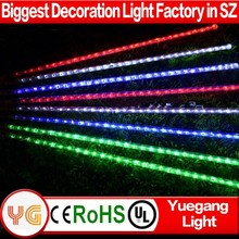 RGB garden decoration led meteor light best selling products led rainfall light