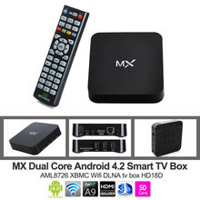 MX2 Android 4.2 Jelly Bean Dual Core XBMC Streaming Mini PC TV Box Player