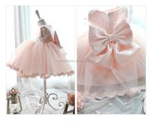 south Korea fashion European sweet girl big bowknot candy color girl dress