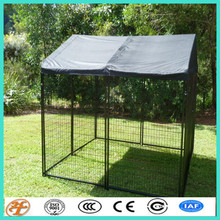 wholesale protable 10x10x6 foot classic galvanized outdoor dog kennels