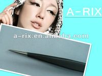 Fine tip straight anti-static stainless tweezer for lashes