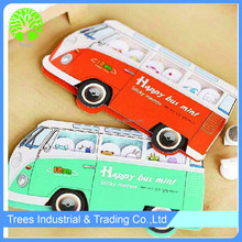 2015 hot selling car shaped sticky note, paper sticky note ,memo pad
