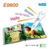 E9800 2015 children sound book & reading pen ;4GB hot sell reading pen for kids
