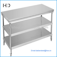 garage stainless steel work table supplier for industry use