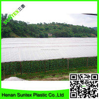 Hot sell 100% new material woven greenhouse plastic film for acid rain protection