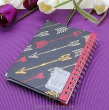 Business designer B6 custom made hardback meeting agenda books