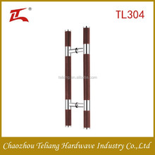 popularly used stainless steel glass door handles