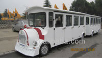 Electric Train 11-seat, 22-seat with trailer, tourism train