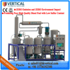VTS-PP Vertical Unique Technology Used Engine Oil Recycling Machine (Change Black to Yellow)