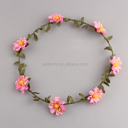 tiara bridal flower crown and high quality flower extract of crown of thorns QFHD-5019