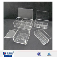 20 compartment extra large storage box,clear acrylic toy display