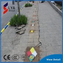 plastic led lighting curbstone roadside