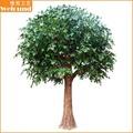 Ficus árvore árvore de plástico decoração de jardim árvores de plástico