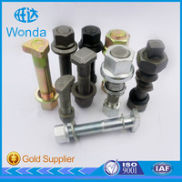 High quality good service plow m19 v flange bolt for SCANIA using