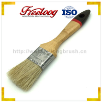 Good Price Textured excellent quality Poplar wood handle paint brush plastic handle
