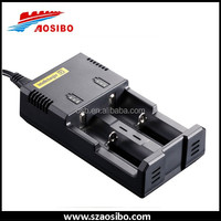 High Quality Charger Nitecore i2 18650 Multi-charger for 18350, 18650,18500,18490 battery,2 set charger