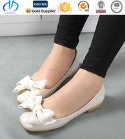 online export cream color girls shoes